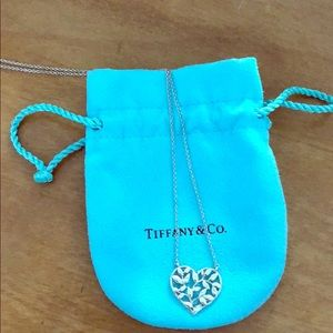 Tiffany necklace with original bag